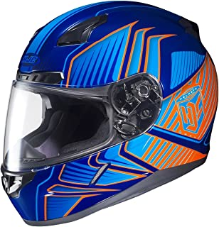Hjc Cl17 Redline Mc26 Full Face Motorcycle Helmet
