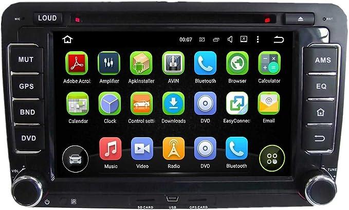 Android 5.1 coche Radio estéreo cabeza unidad GPS Navigation ...