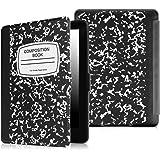 Fintie Kindle Paperwhite ケース 超薄 軽量 保護カバー オートスリープ機能付き (2016 NEW-Kindle Paperwhiteマンガモデル と 2012, 2013, 2015バージョン適応) (ノートブックブラック)