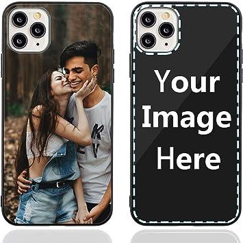 Coque de téléphone personnalisée pour iPhone 11 Pro Max avec photo/texte/logo personnalisé, verre anti-rayures pour faire votre propre photo