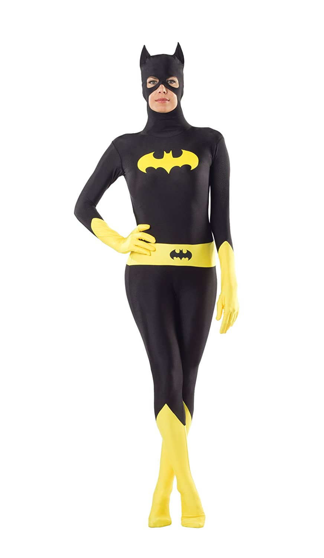 Rubie's Costume Women's Dc Comics Superhero Style Batgirl Bodysuit Multicolor Large Rubies Costumes - Apparel 888556L