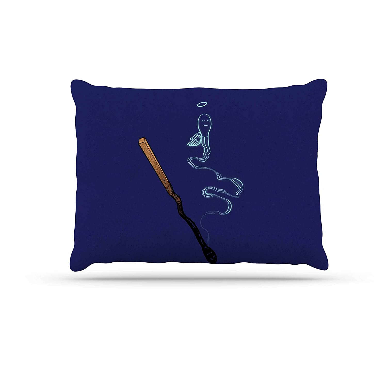 KESS InHouse Barmalisirtb Matches bluee Fantasy Dog Bed, 30  x 40