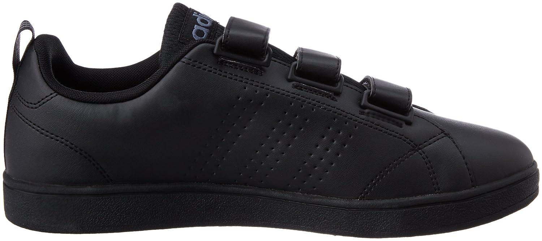 Adidas Vs Advantage Clean CMF, Zapatillas para Hombre, Negro (Cblack/Cblack/Onix), 46 2/3 EU
