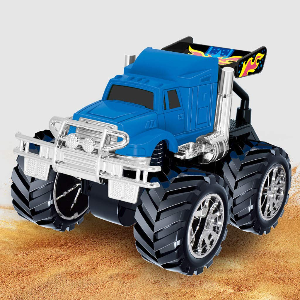Inertia Four-Wheel Drive Off-Road Vehicle Simulation Model Toy Baby Car Model