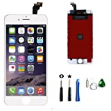 Replacement LCD Display & Touch Screen Digitizer Assembly iPhone 6 4.7inch (Free tool kit included) (White)