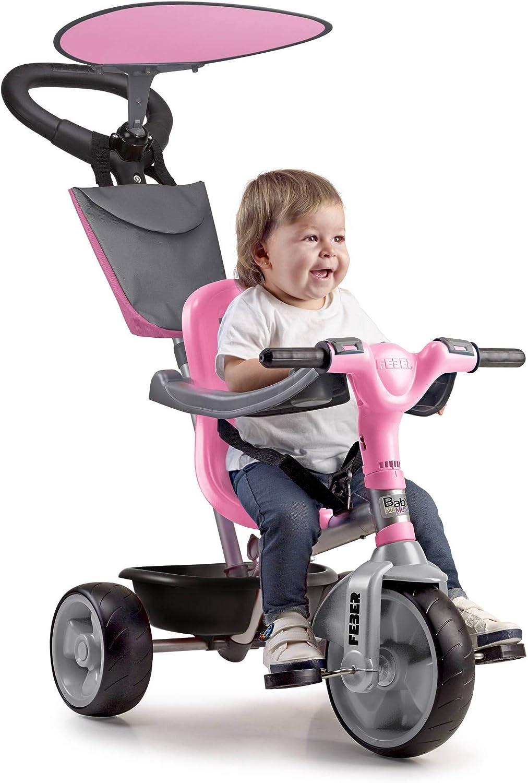 FEBER 800012132 Baby Plus Music - Triciclo para niños y niñas de 9 meses a 3 años