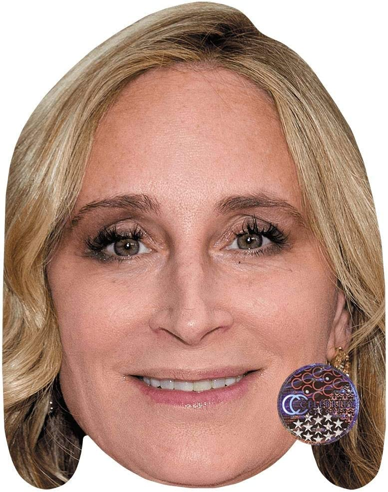 Flat Card Face Sonja Morgan Smile Fancy Dress Mask Celebrity Mask