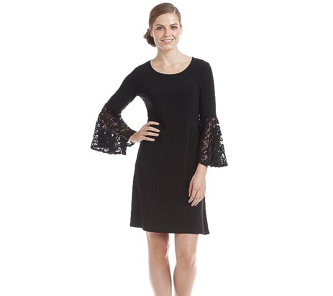7c03afbf9a R M Richards Lace Bell Sleeved Sheath Dress at Amazon Women s ...