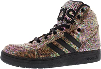 super popular another chance new style Amazon.com | adidas Mens JS Instinct HI Rainbow Lifestyle Sneakers ...