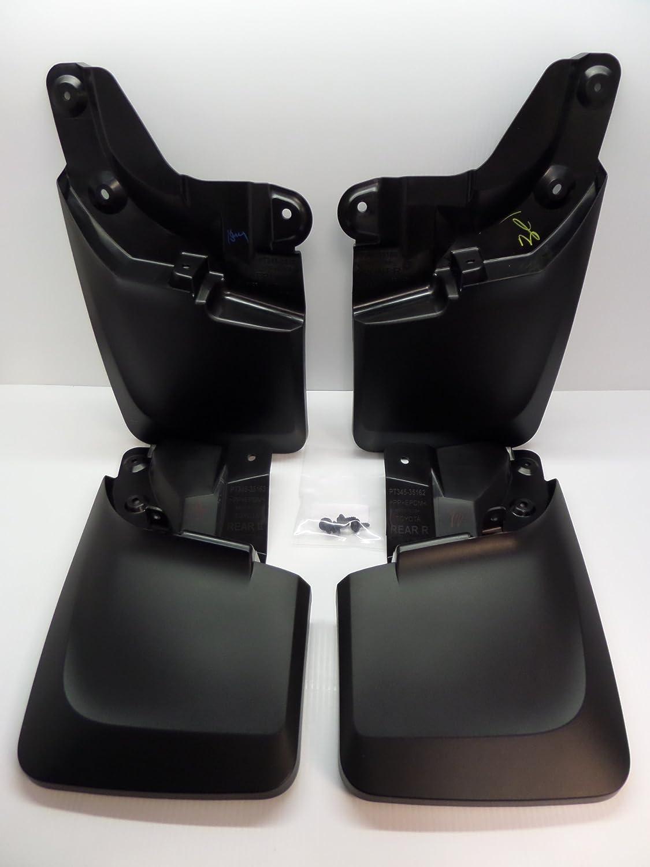 Genuine Toyota Tacoma Mudguard Set PT345-35170. Black 4 Piece Set. 2016 Tacoma PT34535170