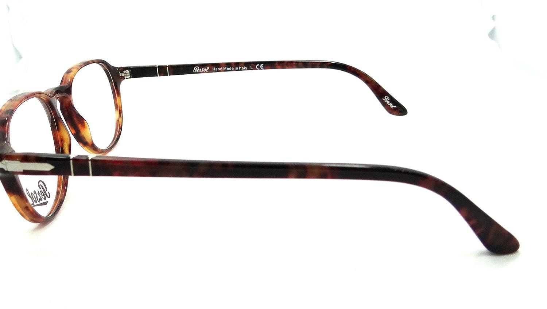 Amazon.com: Persol RX anteojos Frames 3053 V 108 50 x 19 ...