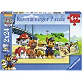 Ravensburger Set di puzzle, soggetto: Paw Patrol, 2 x 24 pz.