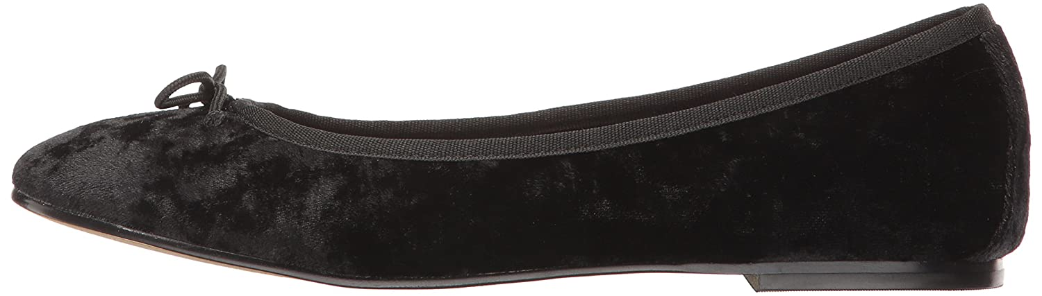 UNIONBAY Women's Dancer Ballet Flat B01MZ8899K 7 B(M) US|Black Crushed Velvet