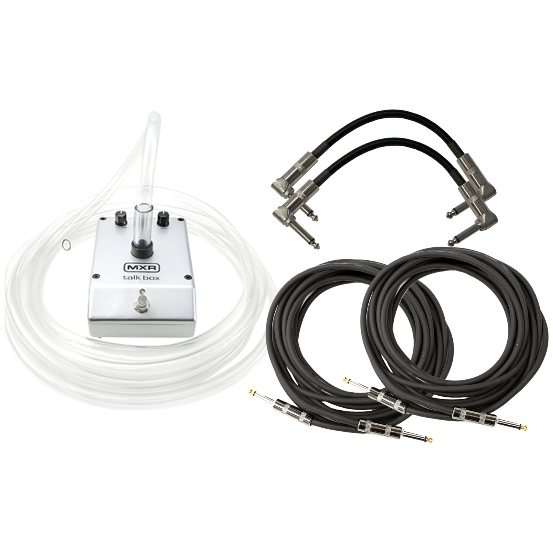 Dunlop MXR M222 TALK BOX w/4 Free Cable