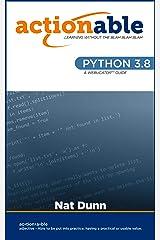 Python 3.8 Kindle Edition