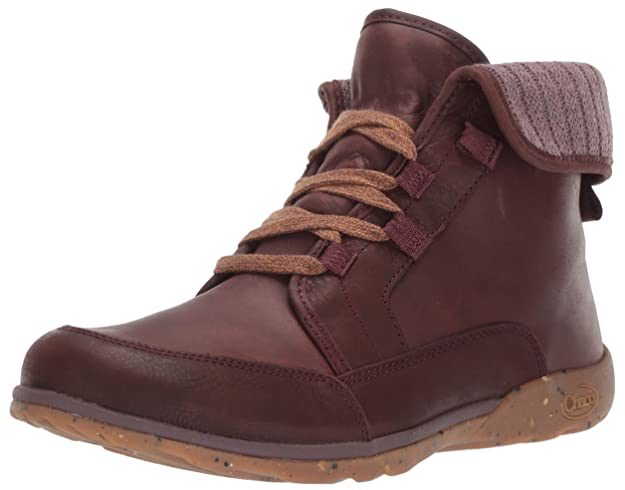 Chaco Women's Barbary Boot, Mahogany, 7.5 M US best women's hiking shoes