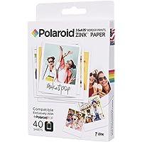Polaroid Zink - Papiers Photos pour Polaroid Pop 2.0, 40 Feuilles