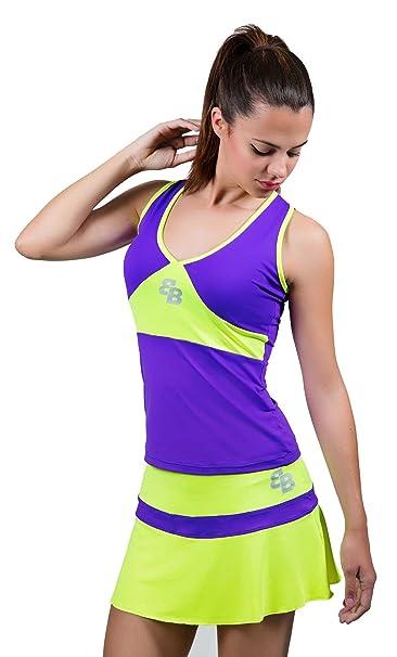 Desconocido Conjunto Miami Chica para Tenis Y Padel - M: Amazon.es ...