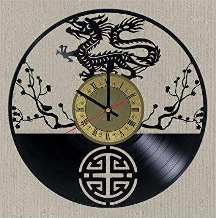 Have Asian clock decor wall
