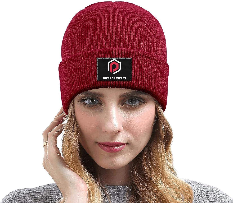 DXQIANG Po-lygon-Bike-Logo Men Women Winter Beanies Hat Multifunction Skull Knit Cap