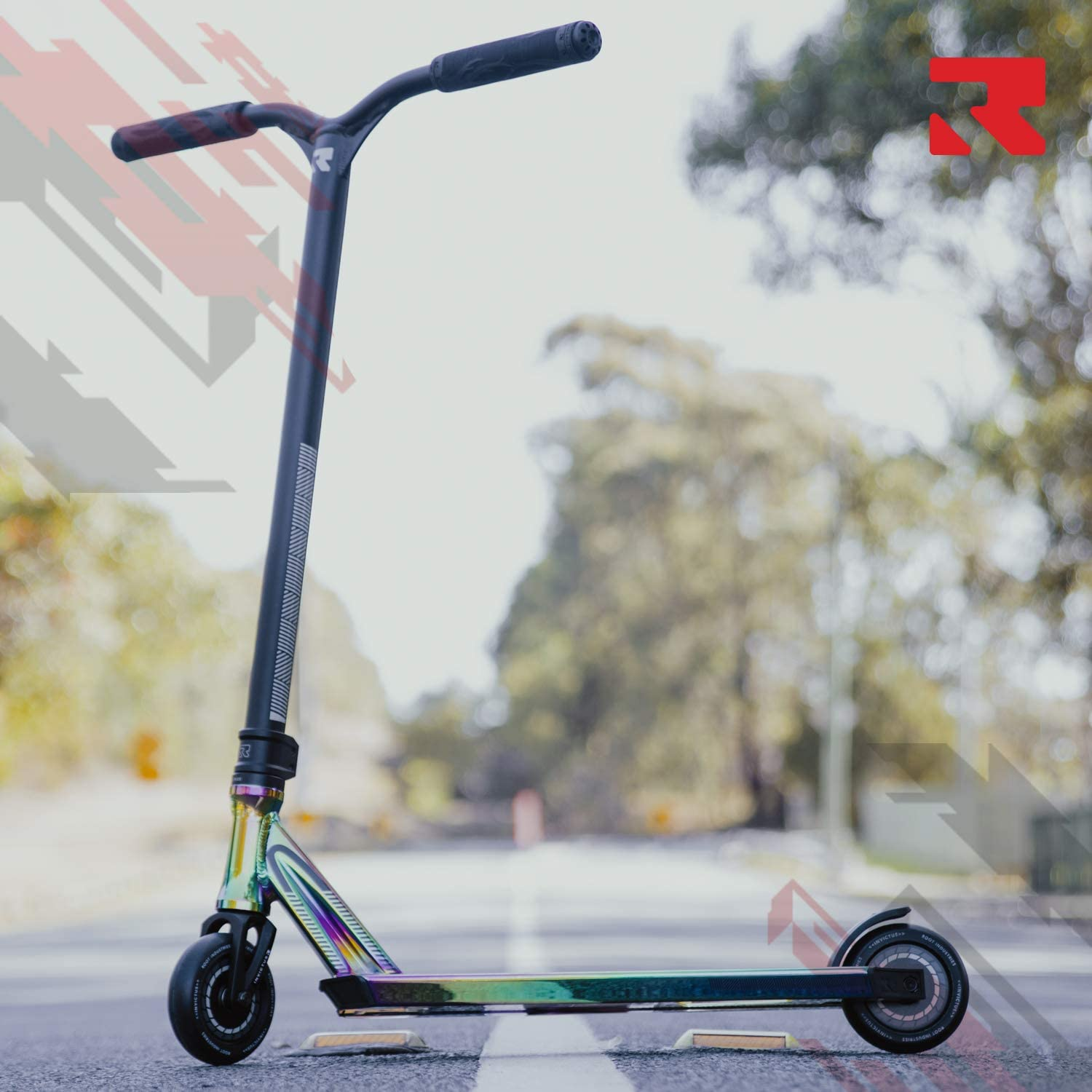 Invictus Complete Scooter – Stunt Scooters – Professional Scooter for any Age Rider – Pro Scooters for Kids Pro Scooters for Adults – Pro Scooter Deck, Pro Scooter Wheels – Ready to Ride Trick Scooter