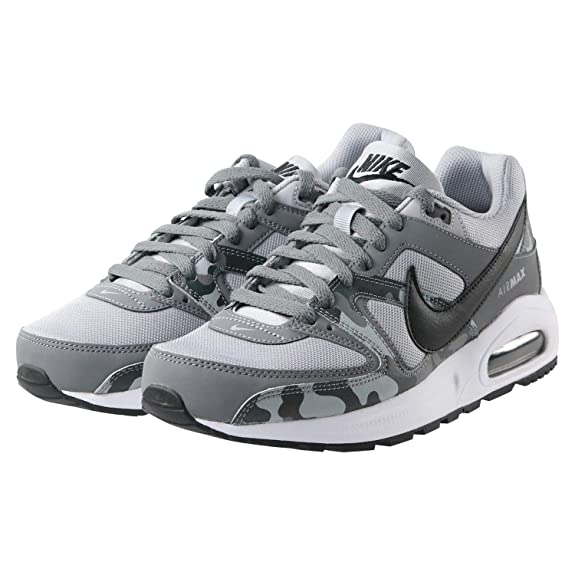 separation shoes a4b57 35483 NIKE Boys  Air Max Command Flex Bg Competition Running Shoes  Amazon.co.uk   Shoes   Bags