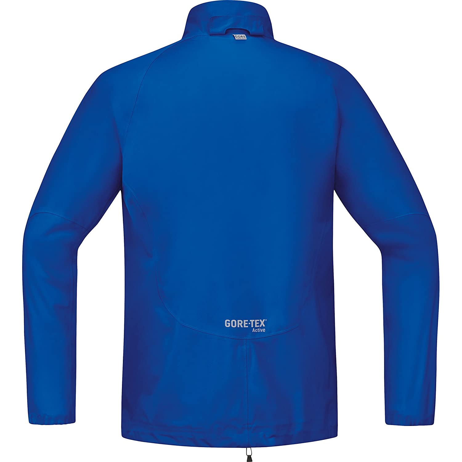 Gore Running Wear Men s Gore Tex Active Essential Running Jacket -  Brilliant Blue 7a30f6a78def