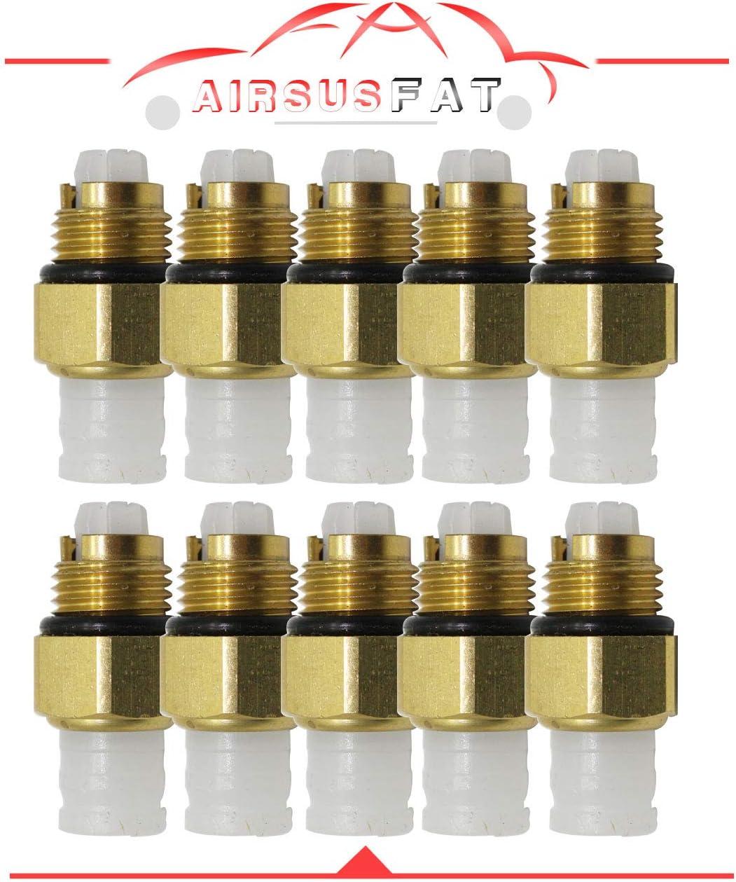 AIRSUSFAT Air Suspension Spring Repair Kit Air Valve M10 for Audi ...