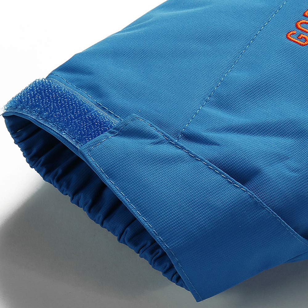 Balakie Mens Plus Size Warm Zipper Hooded Jackets Sport Outdoor Assault Coat