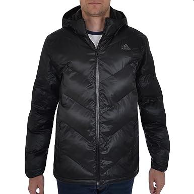 Adidas Performance chaqueta de plumón para hombre, hombre, negro, extra-large: Amazon.es: Deportes y aire libre