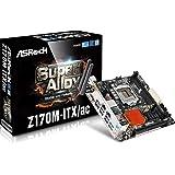 Asrock Z170M-ITX/AC Motherboard (S1151 Intel DDR4, Retail)
