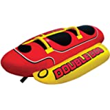 Airhead Hot Dog   1-5 Rider Towable Tube for Boating