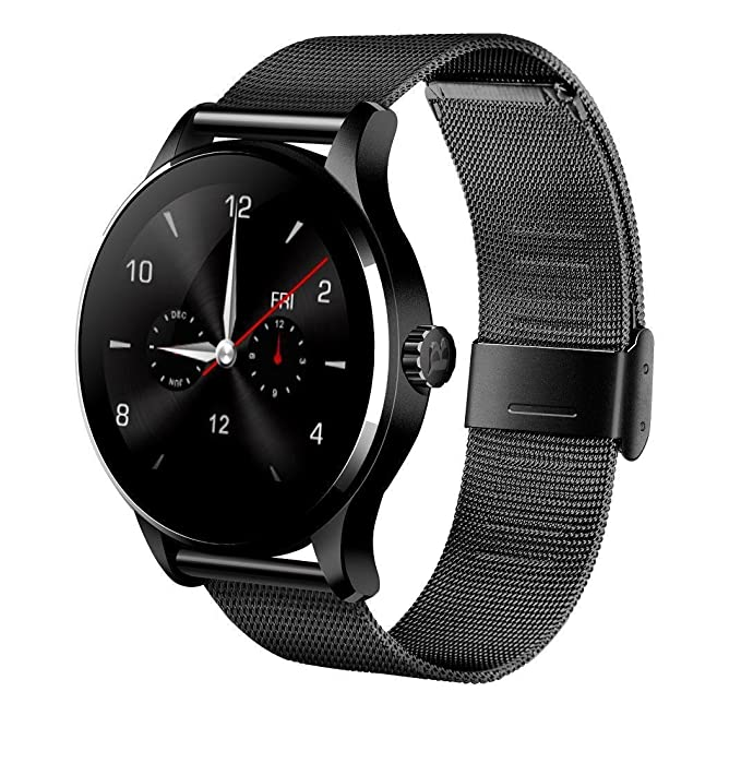 Amazon.com: K88H Bluetooth Smart Wrist Watch with Stainless ...