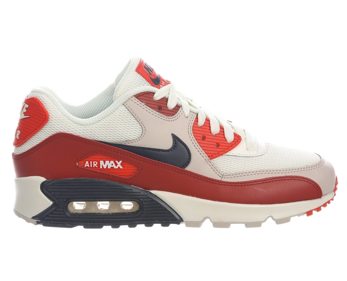 online retailer 22b22 8cc4f Galleon - NIKE Air Max 90 Essential Mens s Shoes Mars Stone Obsidian  Aj1285-600 (7.5 D(M) US)