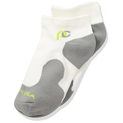 Anti-Slip Compression Socks - Made in USA - Low Profile - Extra Support with Under-Ankle Compression - Great for Golfers, Cyclists, Runners, Walkers and Everyday Wear! No More Tired Feet