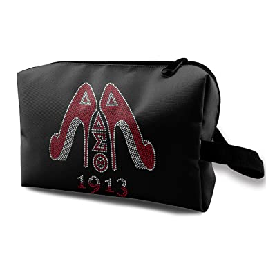 Image Unavailable. Image not available for. Color  Delta Sigma Theta  Cosmetic Bag 3b52983a002dc