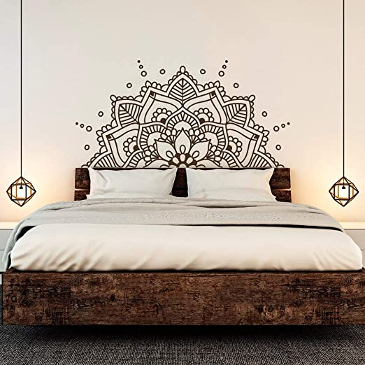 Mandala Etiqueta de la pared | Yoga Decoración | Pegatina de ...