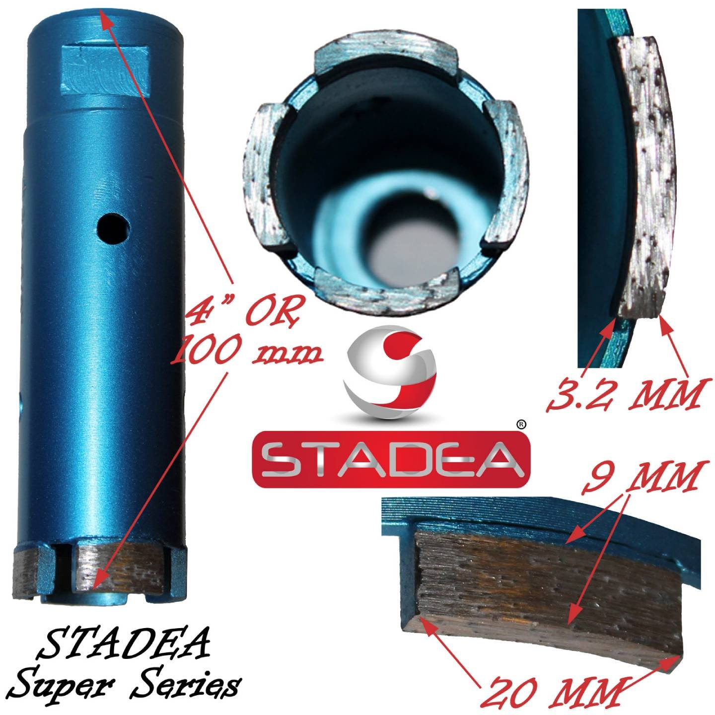 Stadea Granite Concrete Diamond Hole Saw Bits For Concrete - 5 inch tile hole saw