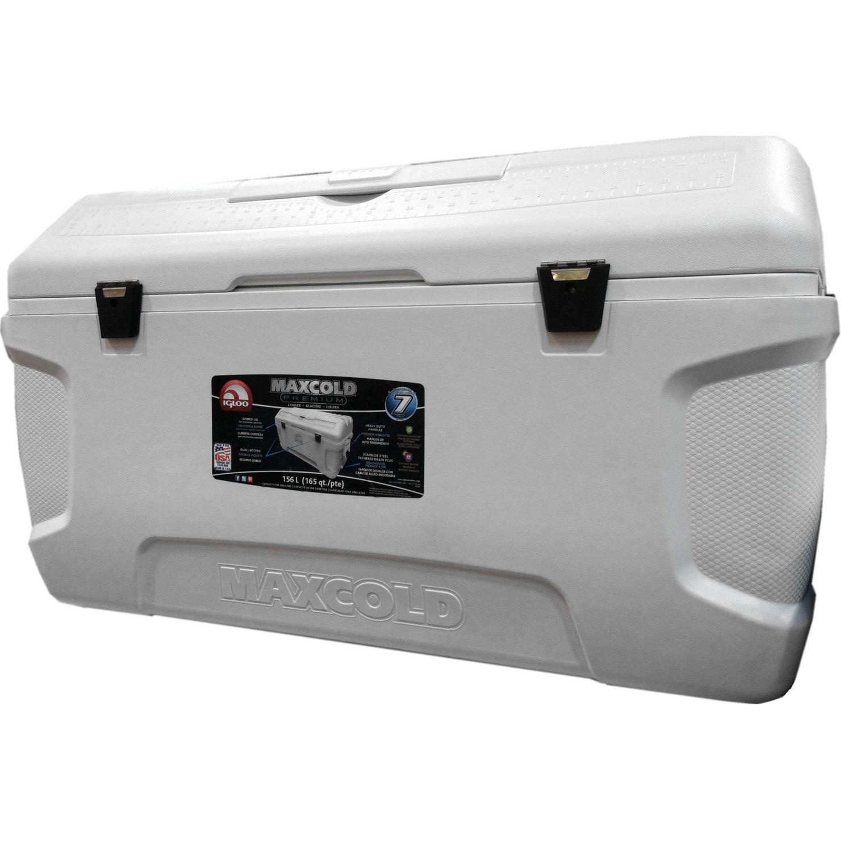 d38efb21ea0 Igloo MaxCold Large 165 Quart 156 Litre 280 Can Cool Box  Amazon.co.uk   Kitchen   Home