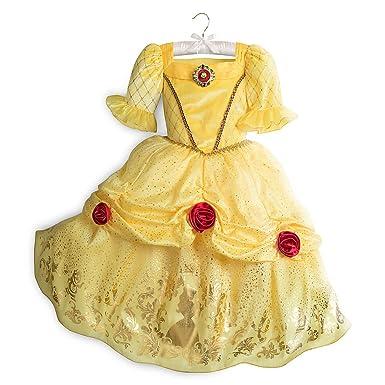 sc 1 st  Amazon.com & Amazon.com: Disney Belle Costume for Kids Yellow: Clothing