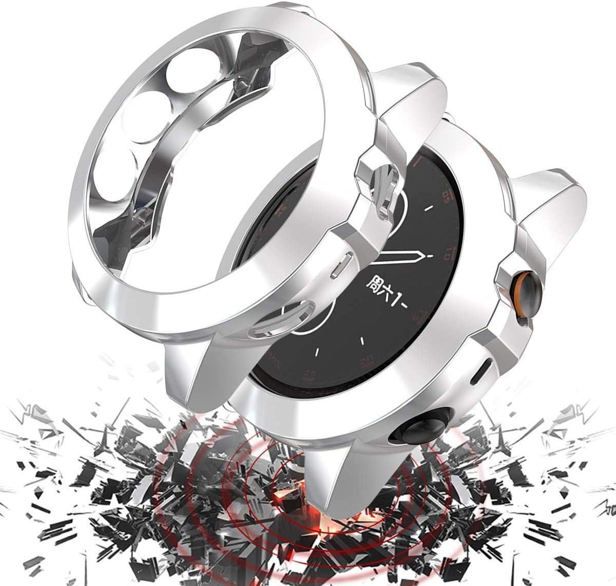 Schwarz Weiche TPU Slim Schutzh/ülle f/ür die Sto/ßstange Saver Shell f/ür Garmin Finger 5X//5X Plus Smartwatch Jvchengxi Kompatibel mit Garmin fēnix 5X//5X Plus H/ülle