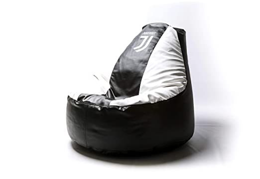 Amazon.com: Juventus – Puf de fútbol cómodo para niños y ...