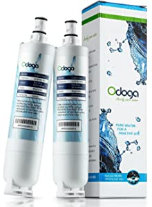 Odoga 4396508 Refrigerator Water Filter Compatible with Whirpool 4396508, EDR5RXD1, 4396510, 4392857, WF-NLC240V, WF-L500, 4396918, W10186668, EveryDrop Filter 5, Kenmore 46-9010 (2-Pack)