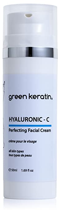 15 opinioni per Green Keratin Ialuronico- C Crema Viso || Acido ialuronico e vitamina C