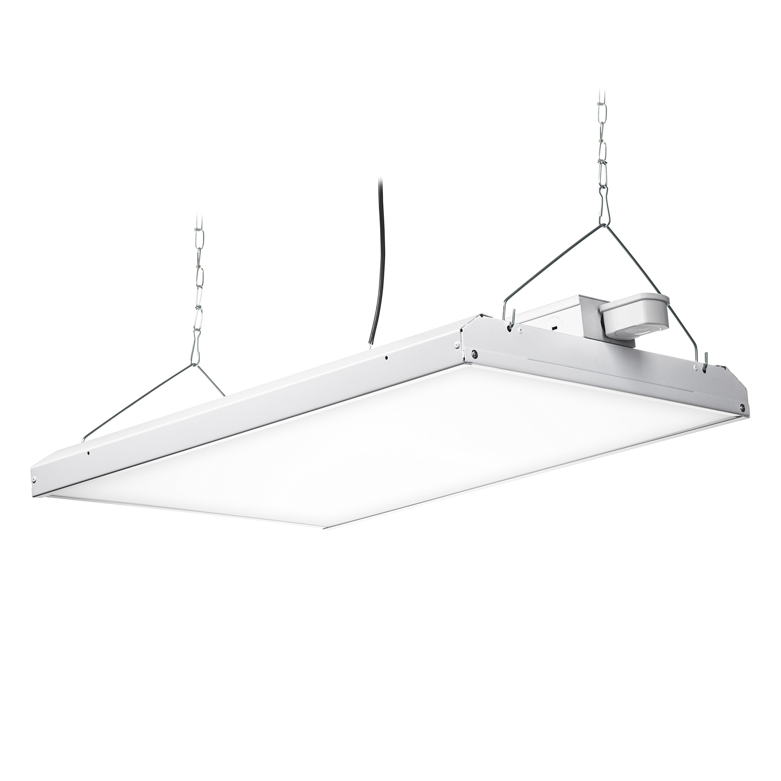 Hyperikon LED High Bay Light Fixture, Motion Sensor Included, 165W (500W Equivalent), 22000 Lumen, 5000K Indoor Area Warehouse Industrial Lighting, DLC and UL by Hyperikon