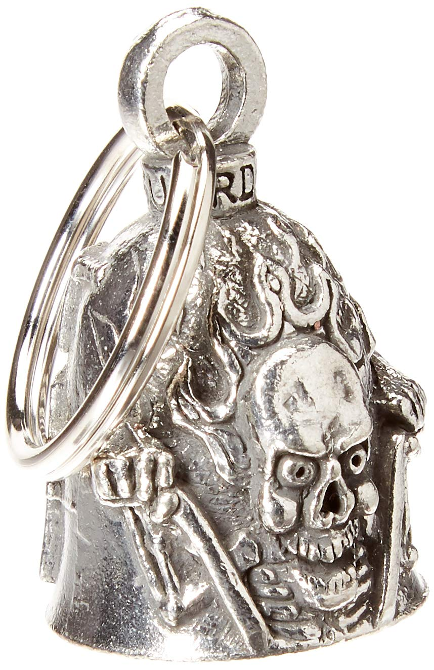 Hot Leathers BEA1061 Silver Ride It Like You Stole It Guardian Bell