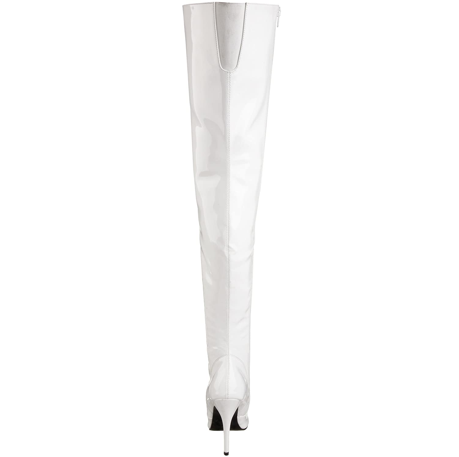 Pleaser Women's Seduce-3010 B(M) Thigh High Boot B000GE79XQ 6 B(M) Seduce-3010 US|White Patent 88e7a5