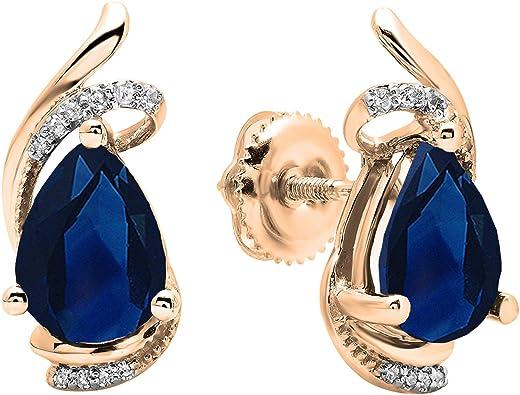 Raw sapphire earrings,lapis lazuli stud earrings,hypoallergenic earrings,crystal stud earrings,fashion earrings,untreated sapphire gemstones