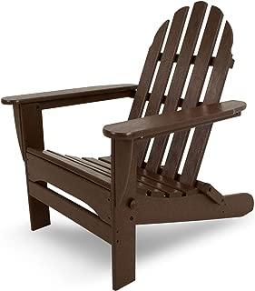 "product image for POLYWOOD AD5030MA Classic Folding Adirondack Chair, 35.00"" x 29"" x 35.00"", Mahogany"