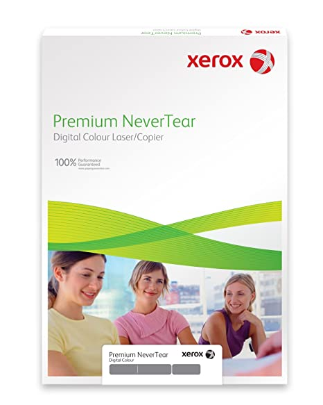 Xerox 003R98093 Premium Never Tear Papel de poliéster, A4, 365 g ...